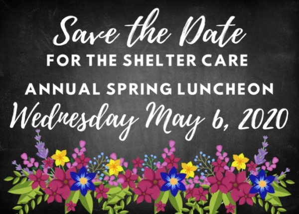 Shelter Care Ministries 2020 Spring Luncheon