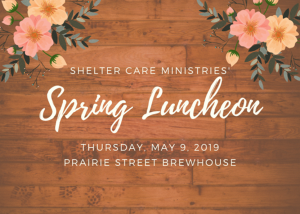 Support Shelter Care Ministries!